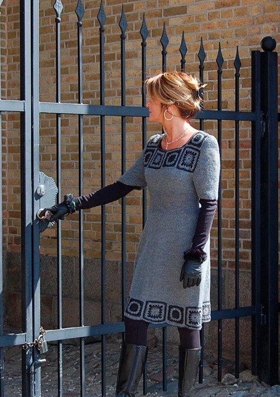 72a6c1a976fd Strik kjole - Gratis opskrift