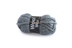 Wool Mix Lysegrå (12)