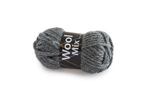 Wool Mix Mørkegrå (21)
